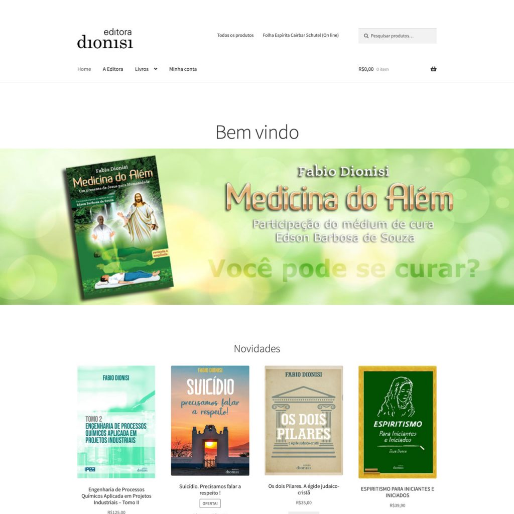 Editora Dionisi - Loja virtual